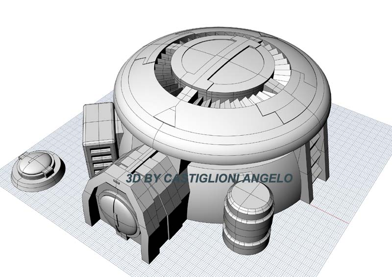 Infantry Tau Bunker 3D STL files for W40K
